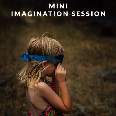 Mini Imagination Session. Explore. Play. Imagine. Get beautiful photographs of your children.