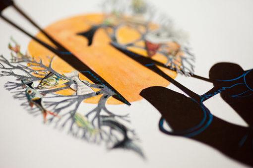 Fine art print by Melanie Gordon and Catherine Mellinger